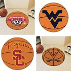 Choose NCAA College U Z Team 27 Round Basketball Area Rug Floor Mat by Fan Mats