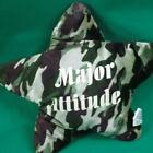 DANDEE PLUSH CAMO MAJOR ATTITUDE ARMY MARINES STAR PILLOW MARINES STUFFED ANIMA
