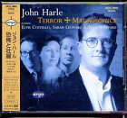 John Harle Terror and Magnificence Japan CD w/obi UCCL-9043