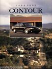 1996 Ford Contour 18-page USA Original Car Dealer Sales Brochure Catalog