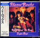 Hanoi Rocks Up Around the bend Super Best Japan CD w/obi PPD-1044