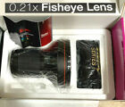 HD 0.21x FISHEYE LENS 72mm (Angle of View:180 degrees) for FUJI SONY NIKON CANON