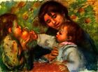 Jean Renoir and Gabrielle by Pierre Auguste Renoir Giclee Print Repro on Canvas