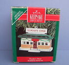1990 Hallmark Keepsake Ornament DONDER'S DINER Artist's Favorite Donna Lee NIB