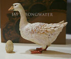 Jay Strongwater Tuscany Goose & Pave Golden Egg with Swarovski Crystals NWTIB