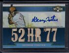2011 George Foster Topps Triple Threads Platinum