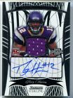 2009 Percy Harvin Bowman Sterling AUTO Jersey RC #177 Vikings Jets # 200