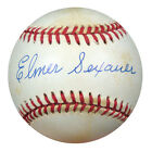 Elmer Sexauer Autographed Signed NL Baseball PSA DNA #S52729