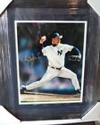 ROGER CLEMENS NY NEW YORK YANKEES SIGNED AUTOGRAPH 11X14 PHOTO MATTED FRAMED COA