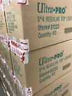 Case of (1,000) Ultra Pro 3x4 Clear Rigid Top Loaders 1000 New!