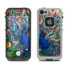 Skin Kit for LifeProof FRE iPhone 5S - Coral Peacock by Juleez - Sticker Decal