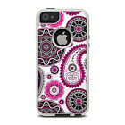 Skin for Otterbox iPhone 5/5S - Boho Girl Paisley - Sticker Decal