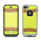 Skin Kit for LifeProof FRE iPhone 5S - Softball - Sticker Decal