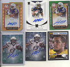 2013 INCEPTION KEENAN ALLEN RC AUTO ON CARD AUTOGRAPH # 99 CHARGERS