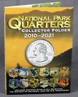 National Park Quarters 4 Color Coin Folder Whitman 2010 2021 Collector WF5129