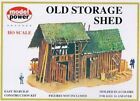 NEW Model Power HO Scale Building Kit - Old Storage Shed