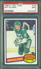 1980 81 OPC #126 RAY ALLISON RC ROOKIE PSA 9 MINT!! WHALERS