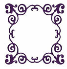 Quickutz Lifestyle Crafts DR0312 Whimsical Frame Metal Die 36x 36