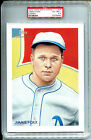 2010 Topps National Chicle Jimmie Foxx Philadelphia A's #JF Cabinet Card PSA