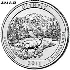 2011 D OLYMPIC UNCIRCULATED NATIONAL PARK QUARTER I HAVE ALL ATB QUARTERS