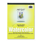 Pacon Artist Watercolor Paper Pad 9 x 12 White 12 Sheets Pad