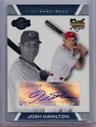 2007 Topps Co-Signers Josh Hamilton Rookie Card Autograph card Reds Rangers RC