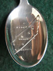 Sterling Silver Souvenir Spoon Tennessee Th. Marthinsen Spoon, 1950's