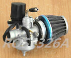 Carburetor W Air Filter 2 Stroke Yamaha Jog 50cc 90cc Scooter Electric choke