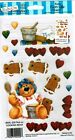 ROY FC Cooking Bear Scrapbooking Rub On Gingerbread
