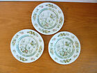 Royal Doulton Tonkin 3 Bread & Butter Plates  Indian Tree Design Pattern TC-1107