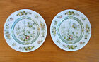 Royal Doulton Tonkin 2 Bread & Butter Plates  Indian Tree Design Pattern TC-1107