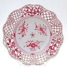 1880's Antique Herend - Openwork Plate, Hungary, Hungarian