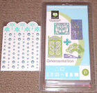 RETIRED Cricut Cartridge NEW ORNAMENTAL IRON+80 Pearls 2FONTS RARE