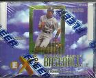 1997 EX-2000 Baseball Factory Sealed Hobby Box Essential Credentials Inserts