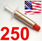 250 Gold High Performance Thermal Grease CPU HeatSink Compound Paste Syringe