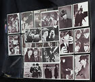 Beatles Black & White Movie Cards (24) Hard Days Night 1964 Topps Look @ Pics.
