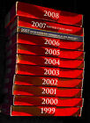 1999 - 2008 Silver Proof Sets Complete In Boxes W/ COA Great Collection Gift.