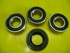 2008-2013 KAWASAKI KLX140 KLX140L REAR WHEEL BEARING & SEAL KIT 215