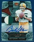 SIGNED 2011 CROWN ROYALE LIVING LEGENDS BART STARR PACKERS JERSEY AUTO #d 15