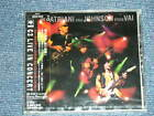 JOE SATRIANI ERIC JOHNSON STEVE VAI Japan 1997 New SEALED CD G3 LIVE IN CONCERT