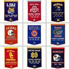 Choose NCAA Team 24 x 36 Embroidered Wool National Champions Dynasty Banner Flag