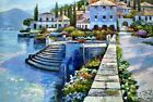 High Quality Oil Painting *Stairway to Carlotta* 24x36