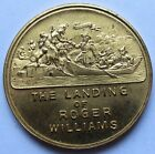 1936 The Landing of Roger Williams, Rhode Island Tercentenary Medal (190834B)