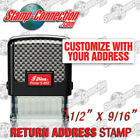 Shiny S 852 Self Inking 3 Line Return Address Stamp Ideal 50 Size
