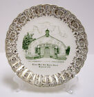 Knoxville Tennessee West Side Baptist Church In 1939 Commemorative Plate