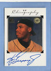 KEN GRIFFEY JR. 1998 SP AUTHENTIC AUTO SP CHIROGRAPHY SEATTLE MARINERS