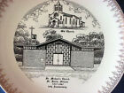 ST. DAVID ILLINOIS PLATE for ST. MICHAEL'S CHURCH 50TH ANNIVERSARY 1917-1967