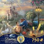 THOMAS KINKADE DISNEY DREAM COLLECTION PUZZLE BEAUTY & THE BEAST FALLING IN LOVE