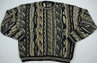 Protege Collection Men's Ugly Sweater Bill Cosby Blue Tan XL