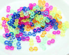 200pc DIY colorful s clips For Rainbow Loom Rubber Bands Bracelets Kit W144
